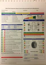 Multi-Point Vehicle Inspection Form For Repair Shops • Qty 500, AP-FD-QC-O (P8)