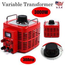 Ac 110v 60hz Tdgc 3kva Variac Transformer Variable Enclosed And Adjustable Us