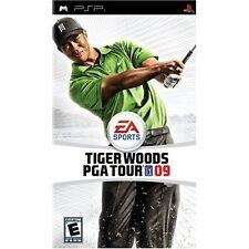 Tiger Woods PGA Tour 09 Sony UMD Golf Sports For PSP 6E