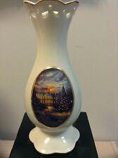 "Avon Thomas Kincade ""Painter of Light"" Porcelain Vase"