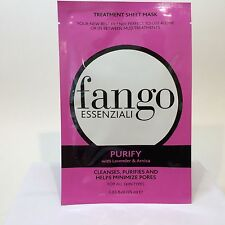 FANGO ESSENZIALI  Treatment Sheet Mask Purify Summer Spa Day New