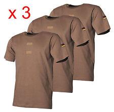 3 X TG. 6/L (50) ORIGINALE esercito tedesco t-shirt tropicale, BW cachi nato, ISAF