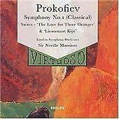 Serge Prokofiev - Prokofiev: Love for Three Oranges; Symphony No. 1 (CD 1999)