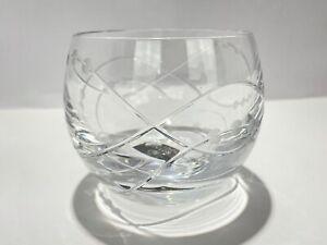 Royal Doulton Precious Tealight Votive Holder Lead Crystal 2006 NEW With Box