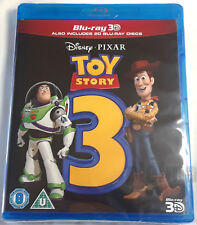 TOY STORY 3 Brand New 3D BLU-RAY and 2D Region-Free Pixar Import Ships from USA