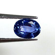 1.00CT Natural Ceylon Blue Sapphire ~ AAA Super Fine Quality ~ No Diffusion