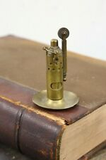 Vintage brass trench cigarette lighter military world war II antique tobacco