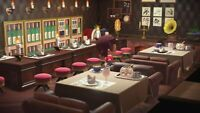 Animal : Crossing Restaurant Bar Living Room Set