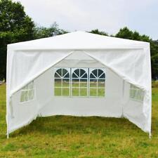 10' x 10' Party Tent Outdoor Heavy Duty Gazebo Wedding Canopy w/4Side Walls