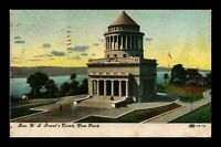 VINTAGE POSTCARD GENERAL GRANTS TOMB NEW YORK VIEW c. 1908