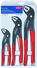 Knipex Cobra 3 Piece Adjustable Plier Set 002006US1 7