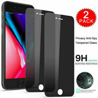 IPhone PRIVACY Screen Protectors Tempered Glass 6 7 8 11 X XS XR MAX PLUS PRO