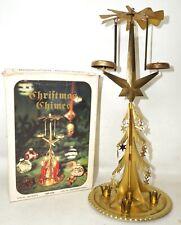 Glockengeläut Glockenspiel Pyramide Blech Weihnachtsdekoration DDR in OVP
