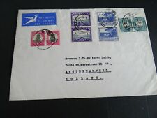 Nederland brief vanaf M.S. Bloemfontein Holland Afrika Lijn naar Amsterdam