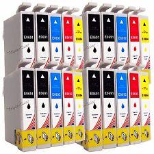 20 PK Ink T069 Set for Epson 69 WorkForce 30 500 600 610 615 1100 Stylus CX7000F