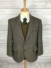 Mens Harris Tweed Jacket/Blazer - 42S - Dogtooth - Great Condition