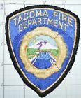 WASHINGTON STATE, TACOMA FIRE DEPT VERSION 1 VINTAGE PATCH