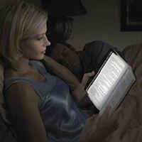 Night Reading Light Vision Book Panel Lamp Home Travel Lighting