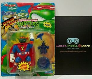 TMNT Ninja Turtles Super Mike 1993 NEW Sewer Heroes HTF RARE in New Condition