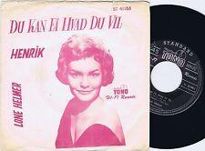 LONE HELMER Du Kan Få Hvad Du Vil Danish 45PS 1961 Charly Niessen covers