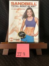 Sandbell Total Body Blast with Brook Benten workout fitness exercise Dvd! New!