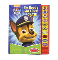 Paw Patrol I'm Ready To Read with Chase Sound Book - Play-a-Sound