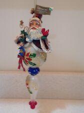 Santa Ornament By Roman Inc. 10.5 inch
