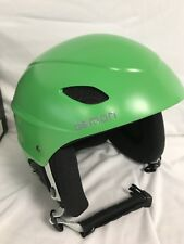 DEMON PHANTOM TEAM GREEN SKI HELMET w/Built In Audio Ear Pads - XL