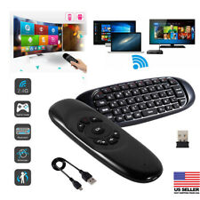 2.4G Wireless Keyboard Air Fly Mouse For Android Mini PC TV Remote Control K6 WY