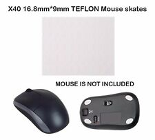 X40 mouse mice skates feet for Logitech MX620 MX1000 MX610 MX600  16.8mm*9mm