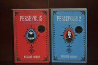 Signed Copies – Persepolis by Marjane Satrapi – Volumes 1 & 2