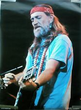 RARE WILLIE NELSON 1980 VINTAGE ORIGINAL MUSIC POSTER