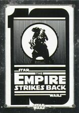 Star Wars ESB Black & White Poster Chase Card PO-1 Ten years of Star Wars: The