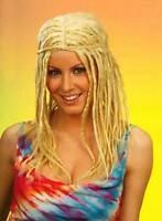 PB Blond clair Rasta perruque Surf Hippie Femme Fancy Dress neuf new