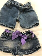 Build A Bear Workshop His & Hers Blue Jeans