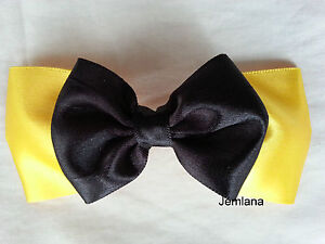 Jemlana's handmade Emma wiggle bow for girls... Made in Australia