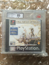 FACTORY SEALED FINAL FANTASY ANTHOLOGY FOR PLAYSTATION 1 UKG / VGA GRADED 85 PS1
