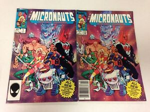 The Micronauts The New Voyages #1 2 3 4 5 6 7 8 9 10 11 20 Kelley Batman Jones