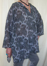 Beautiful Fashionable Floral Rayon Shirt One Size Casual