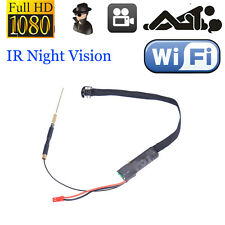 Newest HD 1080P+WiFi Mini Spy Camera+DIY Module+IR Night Vision+4000mAh+H.264