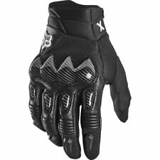 Fox 2021 MX Bomber Black Offroad Motocross Riding Armoured Enduro Gloves