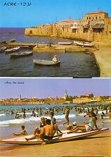 ISRAEL 1960's ACRE VIEWS 2 POST CARDS  UN-USED