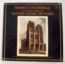 33T PIERRE COCHEREAU LP RECITAL D'ORGUE NOTRE-DAME de PARIS - CONCERT HALL 2177