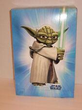 "Hallmark Star Wars Gift Box Self Seal Unzip For Stand Up Yoda 9 x 13 x 4"" NEW"