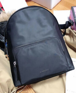 Brand New Burberry Abbeydale Backpack Black Nylon New With Dust Bag And Receipt