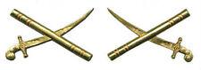 British UK BEF Officer General Marshal Baton Sword Uniform Rank Army War Pin Set