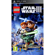 LEGO Star Wars 3 III The Clone Wars PSP Neuf sous Blister