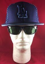 New Era 59Fifty MLB LA Dodgers Dark Blue Lht Blue Stitch O/L LA Lt Blue Flat Hat