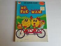 Ms Pac-Man 1980s Whitman Activity and Coloring Book Vintage