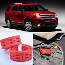 2pcs Rear Suspension Shock Bumper Spring Coil Cushion Buffer For Ford Explorer